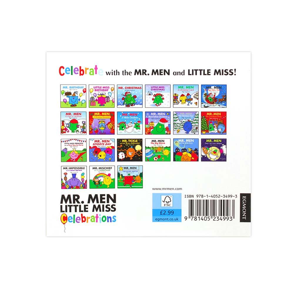 MR.MEN 【英語のえほん】Mr.Birthday  MM
