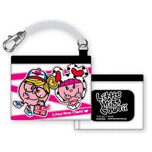 MR.MEN 【生産終了品】Popteen×Littele Miss Cawaii パスケースBK ML11974 MM