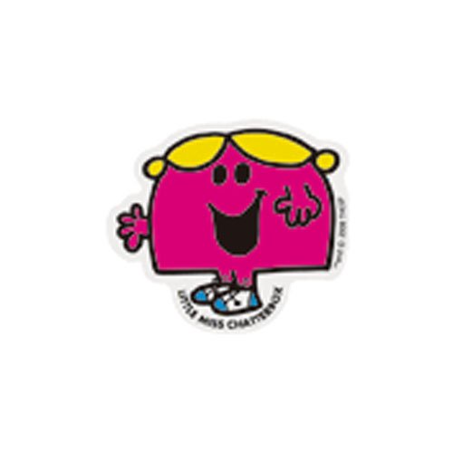 MR.MEN MLS-17 ミニステッカー LITTLE MISS.CHATTERBOX MM}>