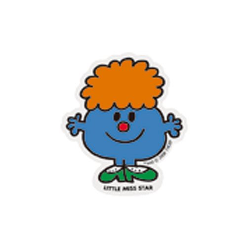 MR.MEN MLS-19 ミニステッカー LITTLE MISS.STAR MM}>