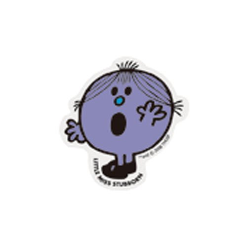 MR.MEN MLS-20 ミニステッカー LITTLE MISS.STUBBORN MM}>