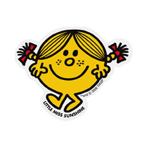 MR.MEN LCS-004 ビッグサイズステッカー LITTLE MISS.SUNSHINE MM}>