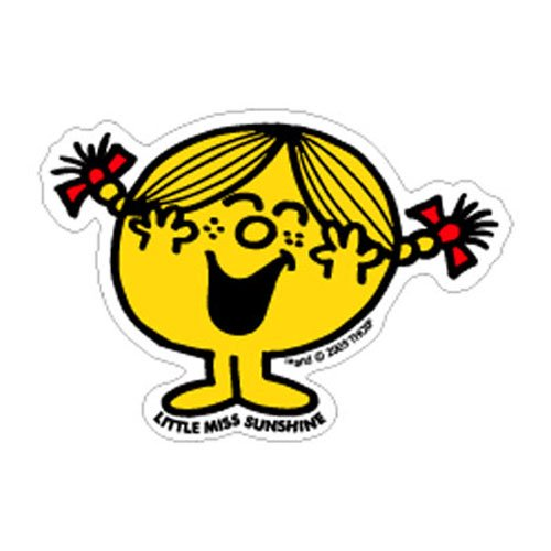 MR.MEN LCS-007 ビッグサイズステッカー LITTLE MISS.SUNSHINE-2 MM}>