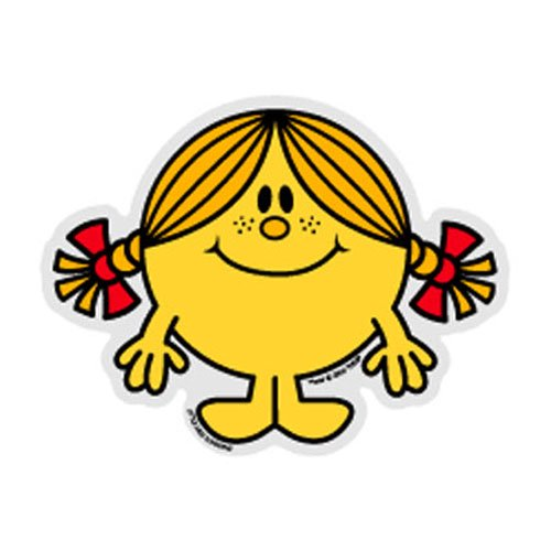 MR.MEN LCS-026 ビッグサイズステッカー LITTLE MISS.SUNSHINE-3 MM}>