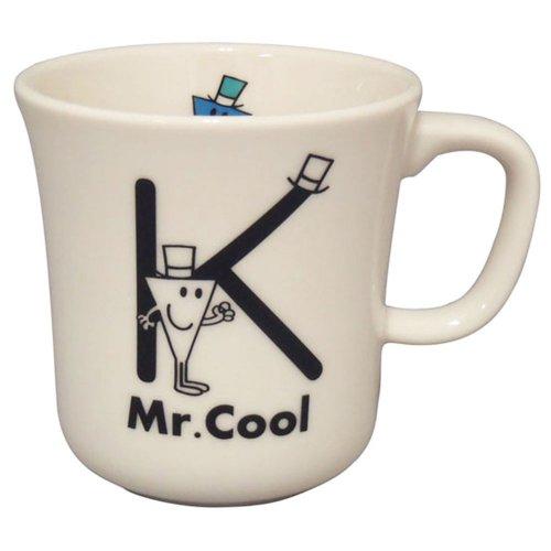 MR.MEN 【生産終了品】イニシャルマグ(K) MR100-11K MM}>