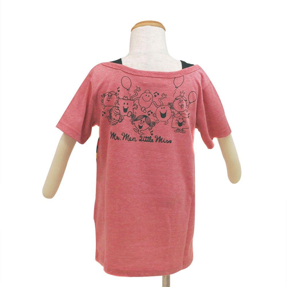 MR.MEN 【生産終了品】キッズフェイクTシャツ(ピンク)110 642MR0041 MM