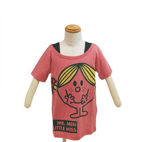 MR.MEN 【生産終了品】キッズフェイクTシャツ(ピンク)110 642MR0041 MM}>