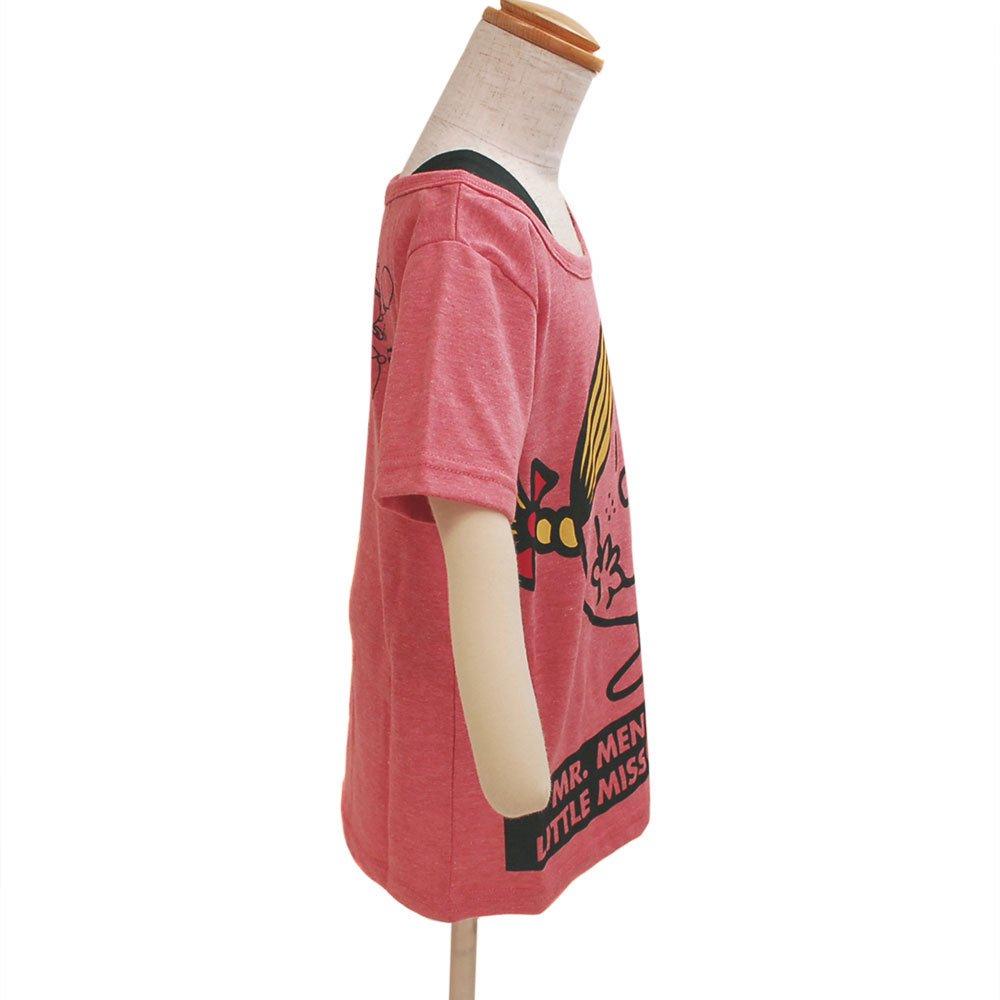 MR.MEN 【生産終了品】キッズフェイクTシャツ(ピンク)130 642MR0041 MM