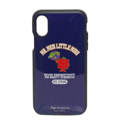 MrMen ミスターメン IIIIfit iPhoneX対応ケース(ストロング) MML-60B MM