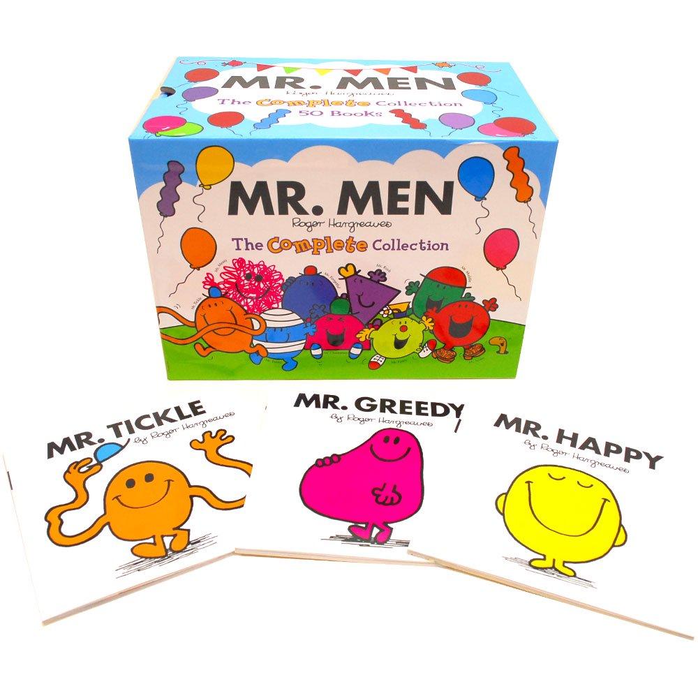 MR.MEN 【英語の絵本】Mr Men The Complete Collection 50 Books  MM