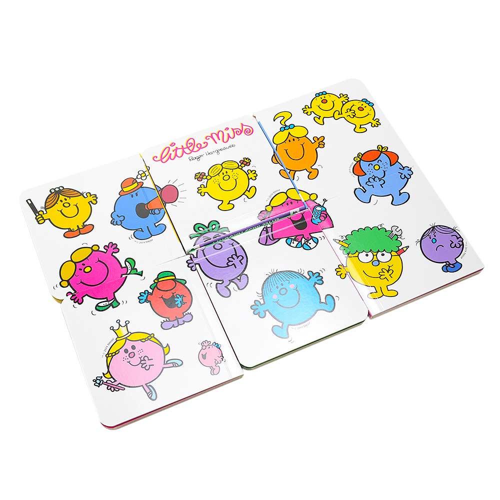 MR.MEN 【英語のえほん】Little Miss Pocket Library MM