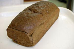竹炭パン こぬか20%