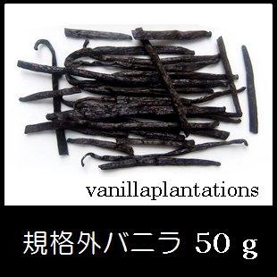 規格外バニラビーンズ  ・ 50g