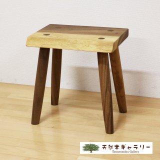 <span class='ic03'>送料無料</span>一枚板 スツール(飾り台) モンキーポッド stool-monki-m-001