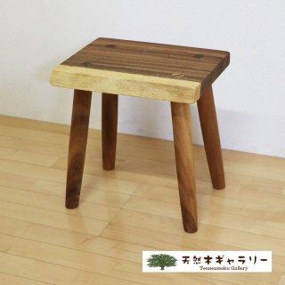 <span class='ic03'>送料無料</span>一枚板 スツール(飾り台) モンキーポッド stool-monki-m11