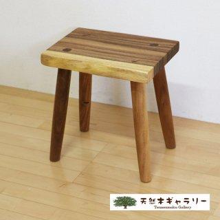 <span class='ic03'>送料無料</span>一枚板 スツール(飾り台) モンキーポッド stool-monki-m12