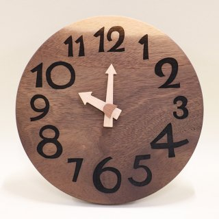 <span class='ic03'>送料無料</span>木の時計「DECCA(デッカ)」 モンキーポッド クォーツ clock-d-47-monki