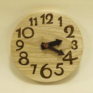 <span class='ic03'>送料無料</span>木の時計「conma(コンマ)」 栓(せん) クォーツ clock-c-77-sen