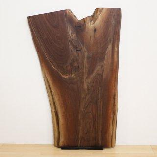 <span class='ic02'>設置無料</span>一枚板 ブラックウォルナット <ウレタン塗装> ita-17646-walnut 【特別御奉仕品】