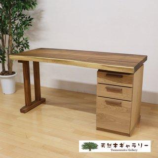 <span class='ic02'>設置無料</span>一枚板デスク モンキーポッド<ウレタン塗装> desk-17942-monki