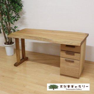 <span class='ic02'>設置無料</span>一枚板デスク 楠(くす)<ウレタン塗装> desk-17943-kusu