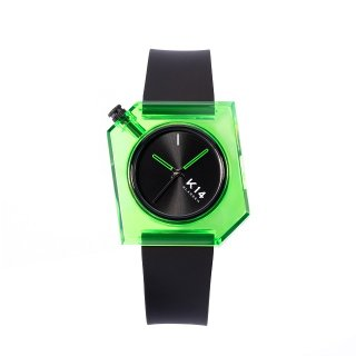 K14 IRREGULARLY SQUARE Green Avo 40mm