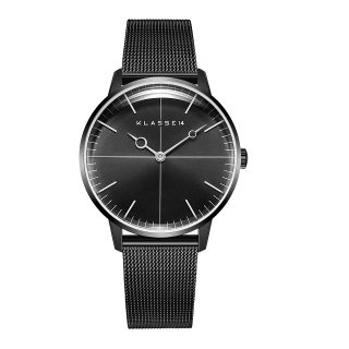 DISCO VOLANTE Black with Mesh Strap 36mm