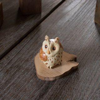 陶器のフクロウ
