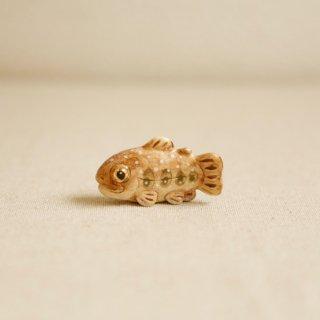 【小】陶器のいわな みずみずしい川魚
