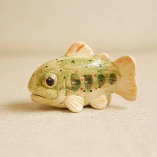 【大】陶器のあまご みずみずしい川魚