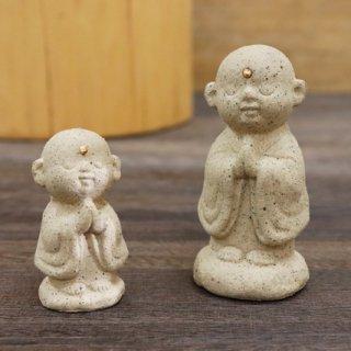 陶器の福地蔵さま (白 セット)