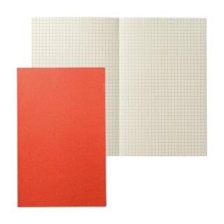 THE BASIC A5ノート グリッド オレンジ (MB-NGA5DA) ★3冊ご購入につきミニ1冊プレゼント!