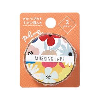 Plune. マスキングテープ 大きな花たち (MT-PL10)