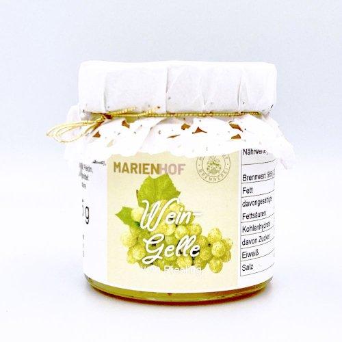 マリエンホーフ社ワインジャム<br>/白・リースリング種(200ml)