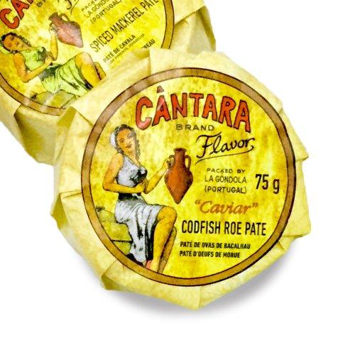 CANTARAタラコのパテ