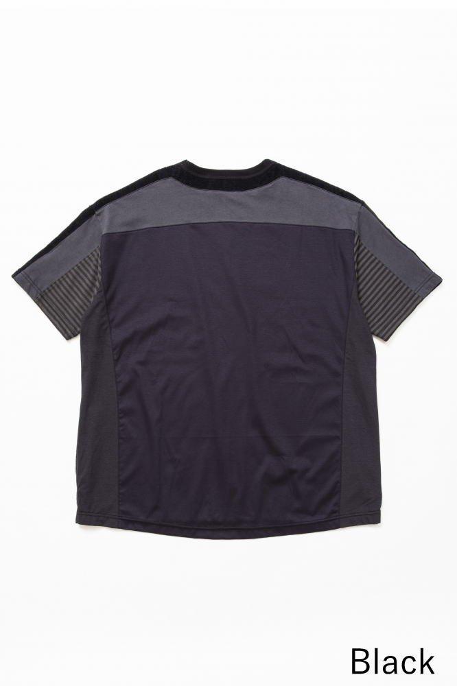 TF 5素材切り替えTシャツ ショートパイル【画像2】