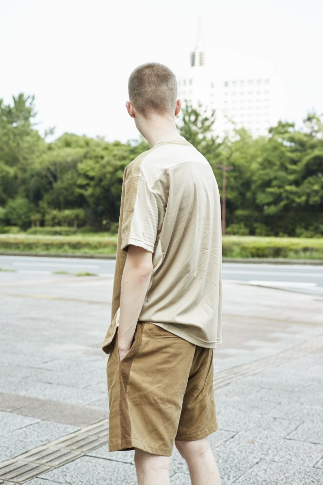 TF 5素材切り替えTシャツ ショートパイル【画像12】