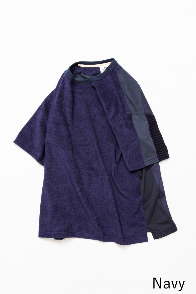 TF 5素材切り替えTシャツ ショートパイル【画像3】