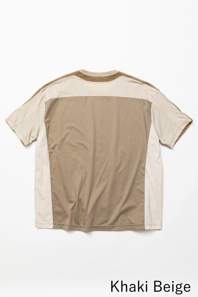 TF 5素材切り替えTシャツ ショートパイル【画像6】