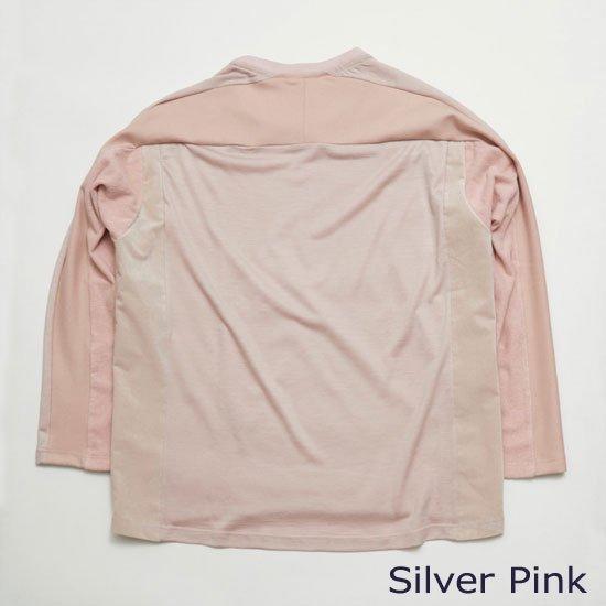 ロングスリーブTシャツ(別素材4種切り替え)【画像2】