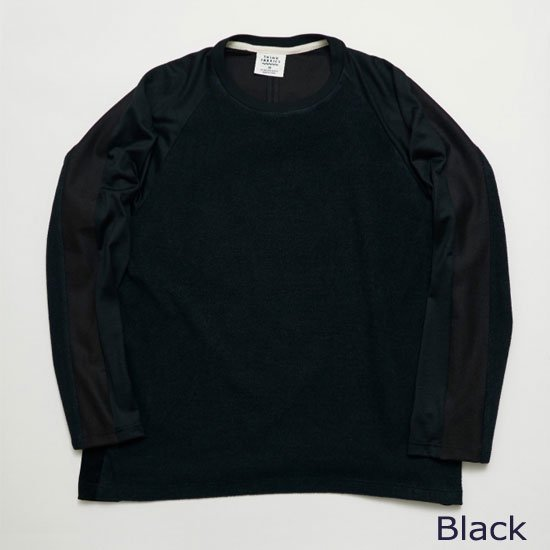 ロングスリーブTシャツ(別素材4種切り替え)【画像3】