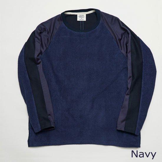 ロングスリーブTシャツ(別素材4種切り替え)【画像4】