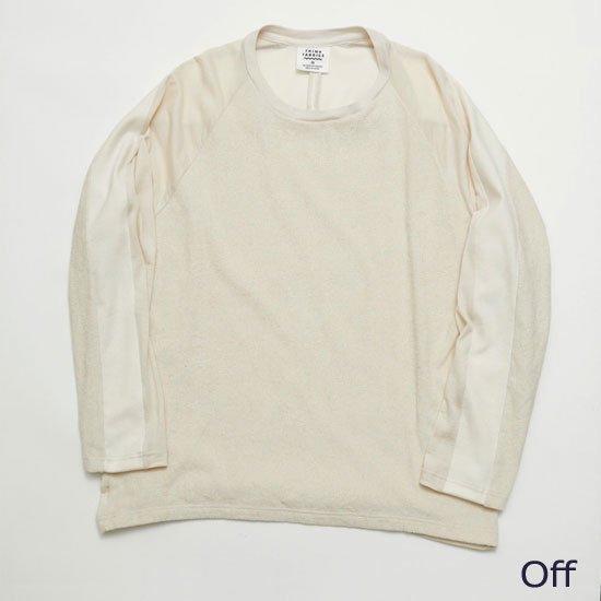 ロングスリーブTシャツ(別素材4種切り替え)【画像6】