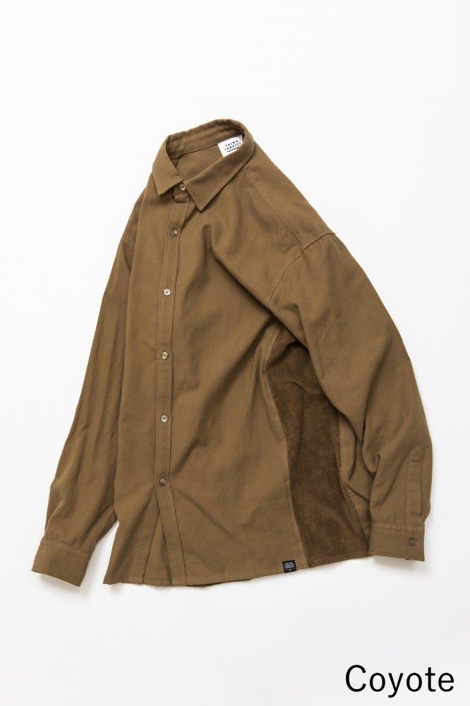 TF 切り替えシャツ ブロード織り風タオルクロス【画像4】