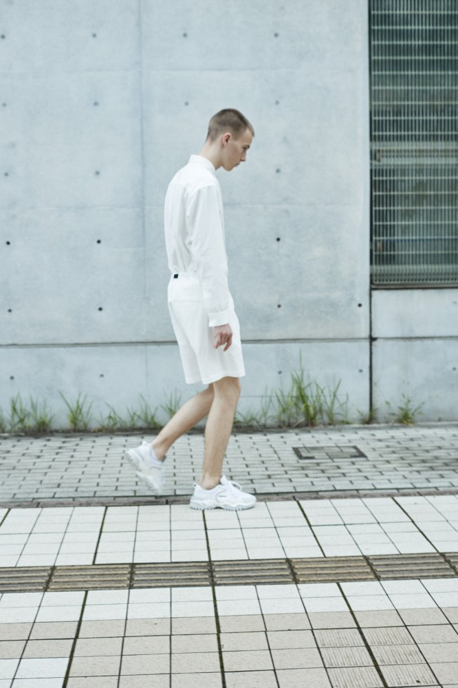 TF 切り替えシャツ ブロード織り風タオルクロス【画像9】