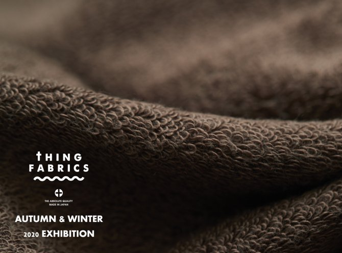 THING FABRICS 2020AW EXHIBITION【画像1】