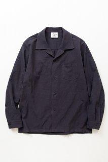 2020AW TF オープンカラーシャツブロード織り風タオルクロス
