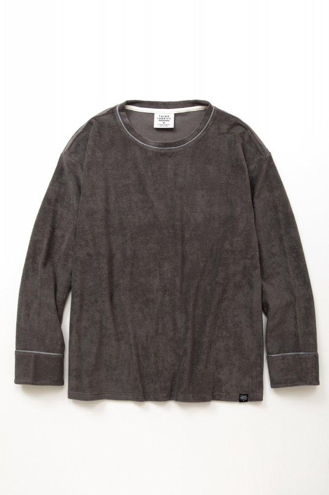 TF ロングスリーブパイピングTシャツ カットソー素材【画像2】