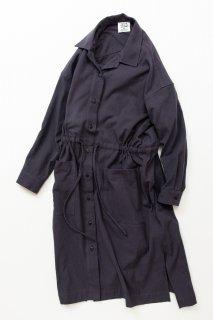 フェイスタオル TF ロングシャツドレス ブロード織り風タオルクロス