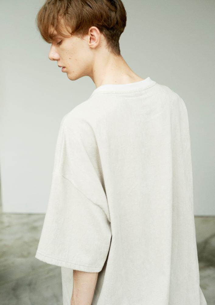 ルーズTシャツ 1ミリパイル【画像10】
